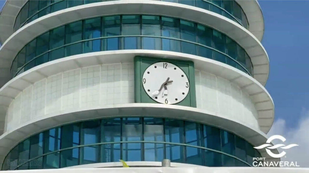 Port Canaveral CT8 Renovation Update 20201112 Clock Tower