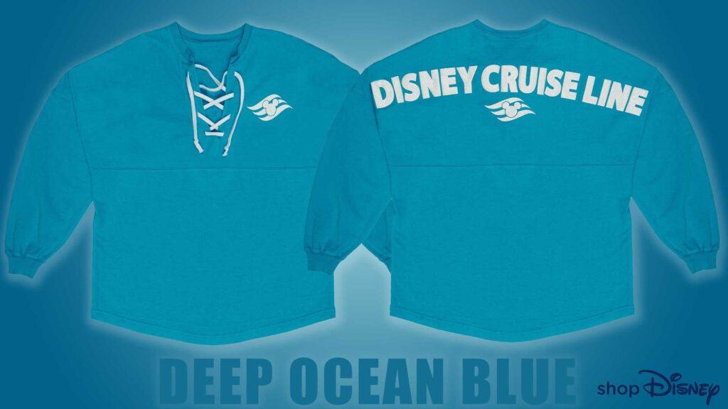 ShopDisney DCL Deep Ocean Blue Spirit Jersey