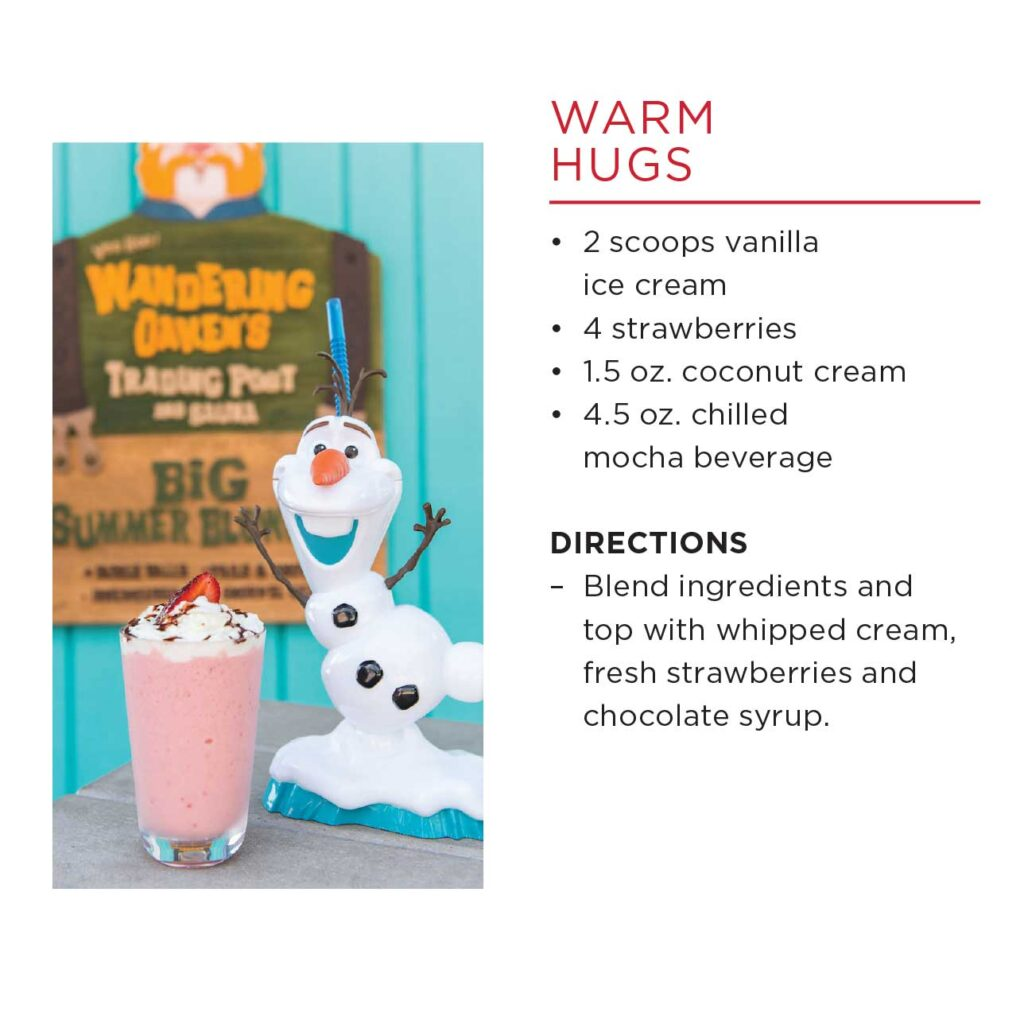 DCL Summertime Freeze Recipe Warm Hugs