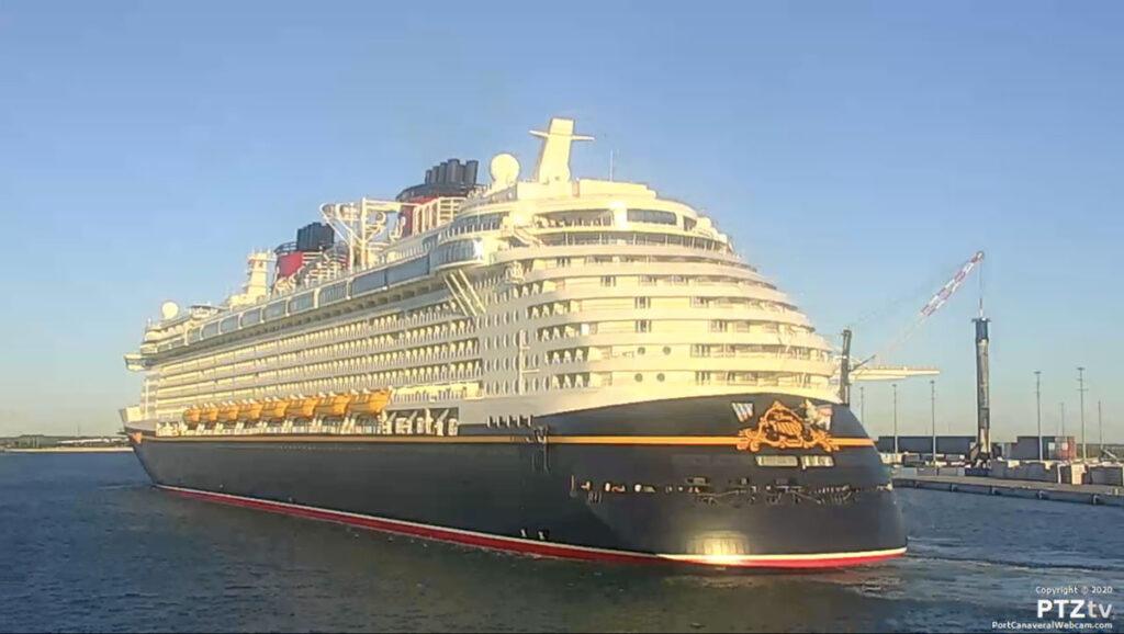 Disney Fantasy Port Canaveral PTZtv 20201202 10
