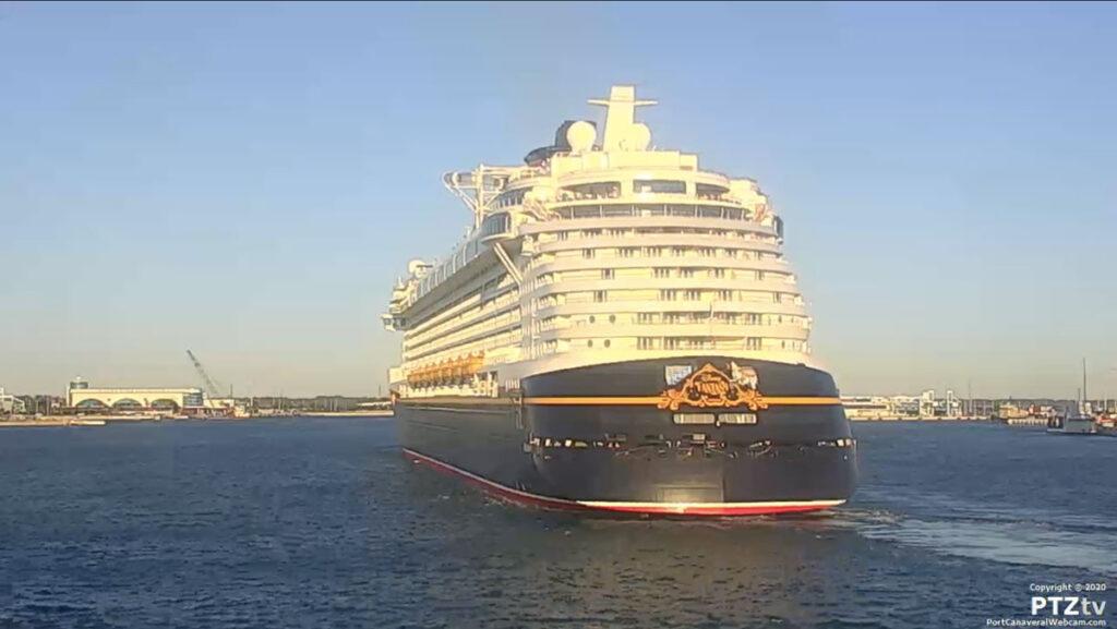 Disney Fantasy Port Canaveral PTZtv 20201202 12