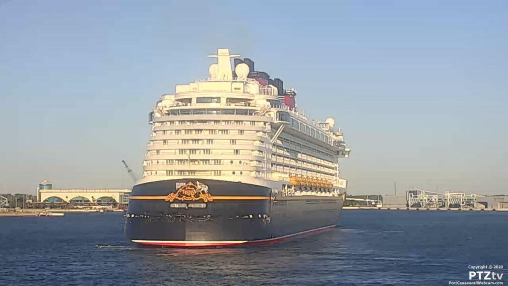 Disney Fantasy Port Canaveral PTZtv 20201202 13