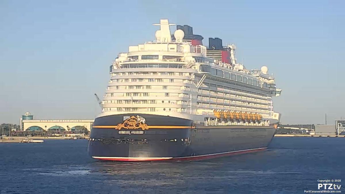 Disney Fantasy Port Canaveral PTZtv 20201202 14