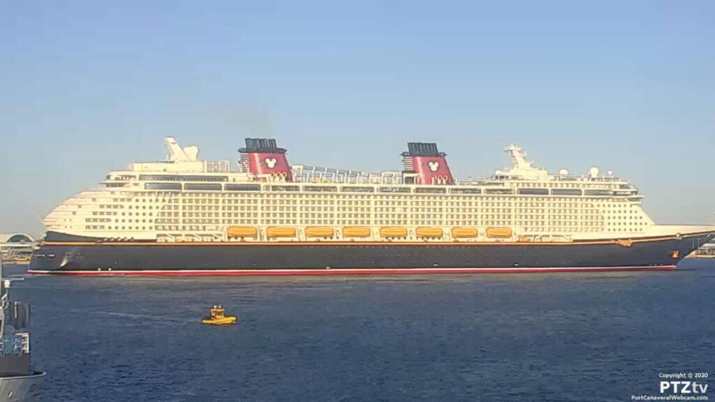 Disney Fantasy Port Canaveral PTZtv 20201202 16