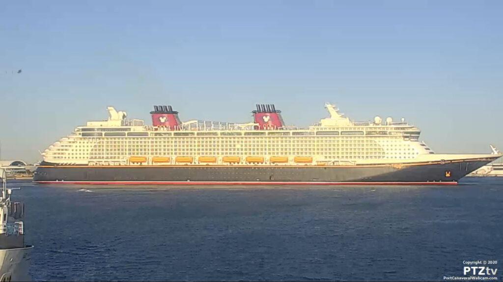 Disney Fantasy Port Canaveral PTZtv 20201202 17