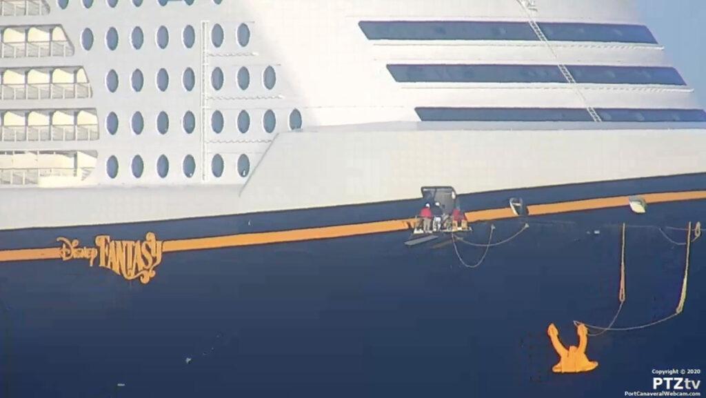 Disney Fantasy Port Canaveral PTZtv 20201202 18