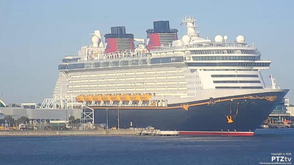 Disney Fantasy Port Canaveral PTZtv 20201202 20