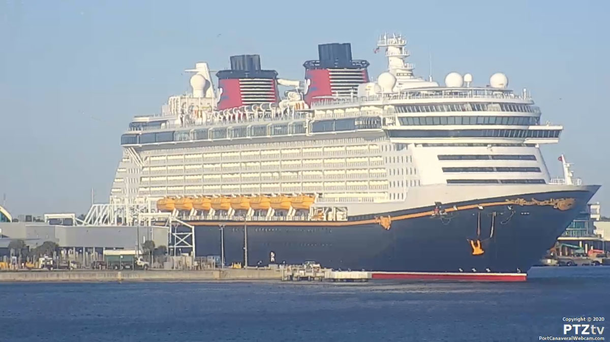 Disney Fantasy Port Canaveral PTZtv 20201202 20