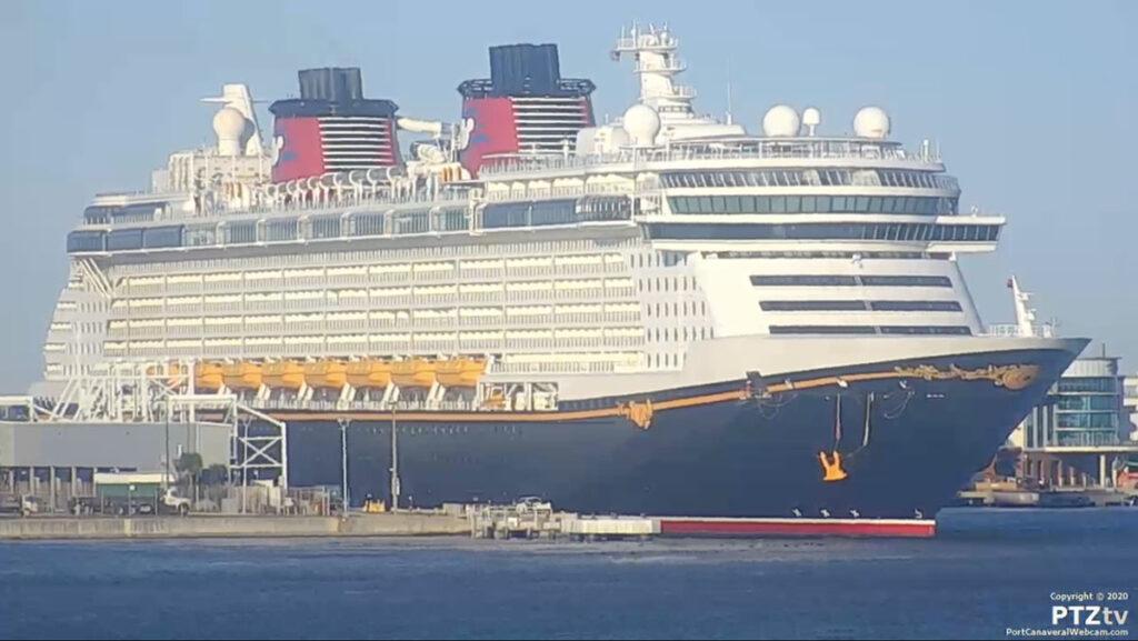 Disney Fantasy Port Canaveral PTZtv 20201202 21