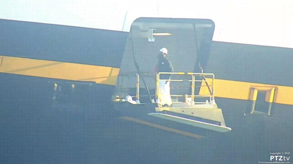 Disney Fantasy Port Canaveral PTZtv 20201202 7