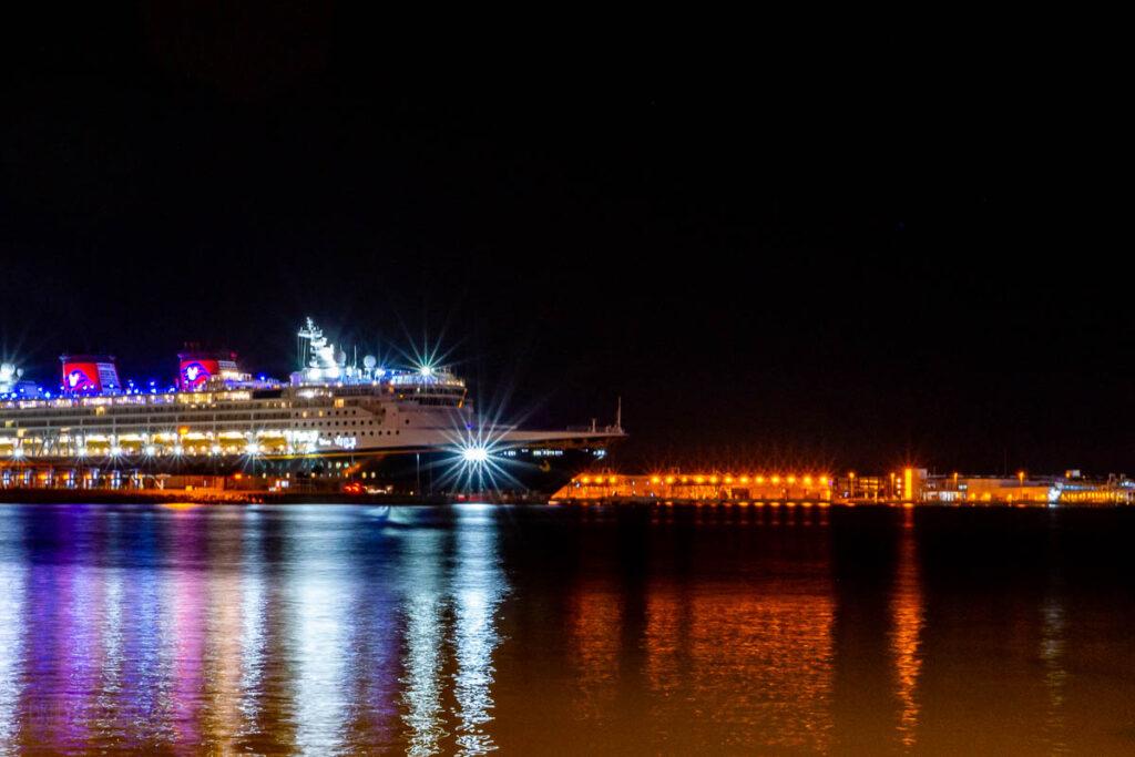 Disney Wonder Port Canaveral Evening CT10 20201127