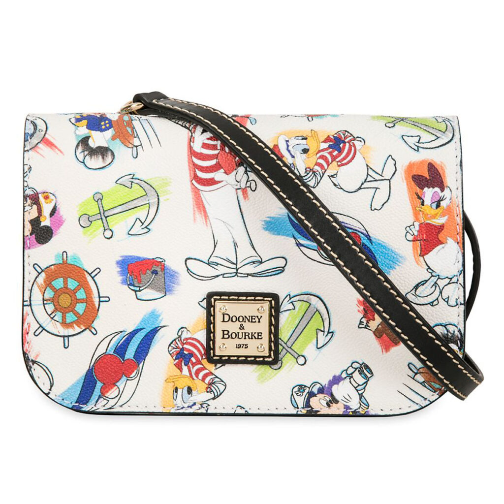 ShopDisney DCL Captain Mickey Mouse Friends Disney Ink Paint Crossbody Dooney Bourke 1