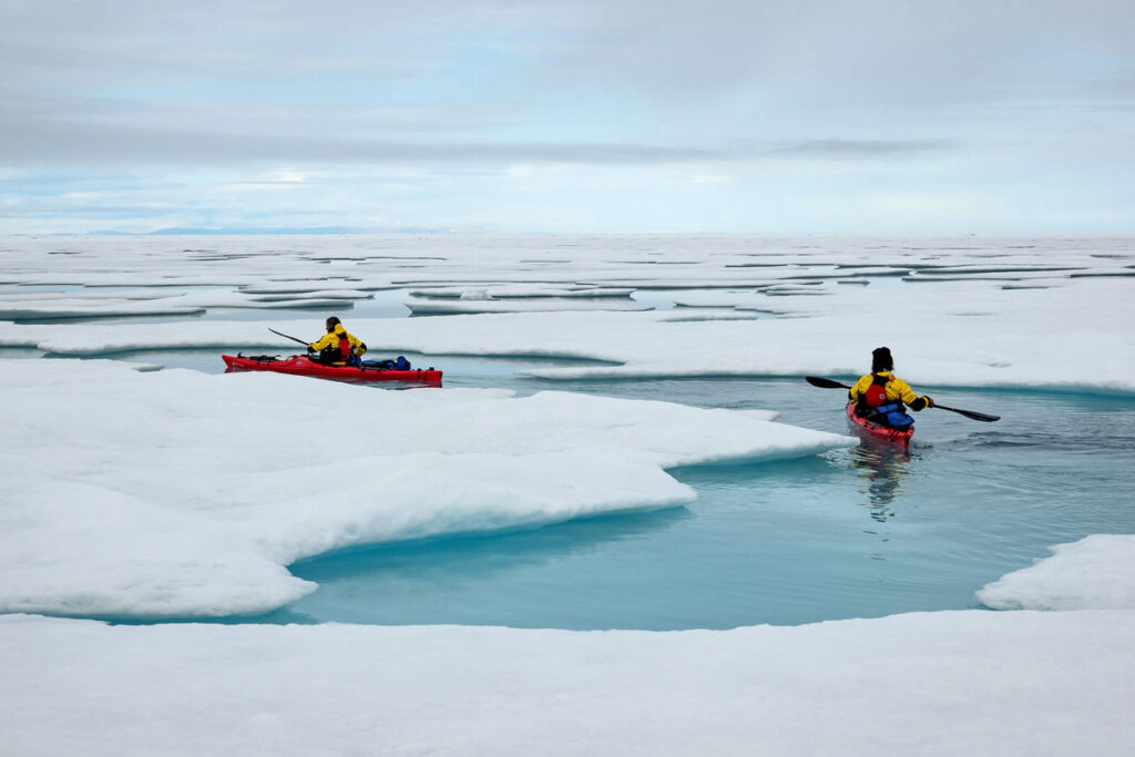 Adventures By Disney Expedition Cruises – Kayaking In Antarctica