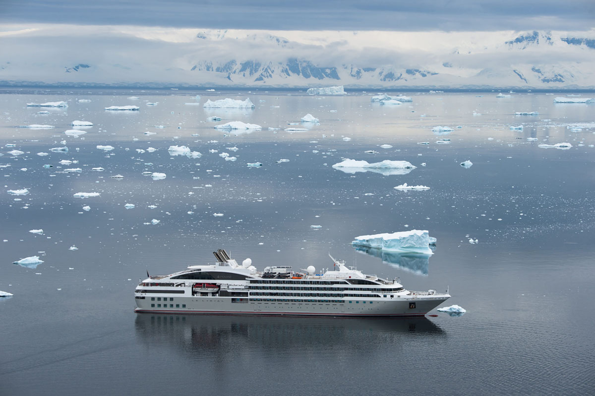 Adventures By Disney Expedition Cruises – Le Lyrial In Antarctica