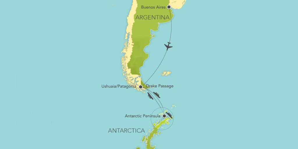 Antarctica Patagonia Expedition Cruise Itinerary 2021 2022