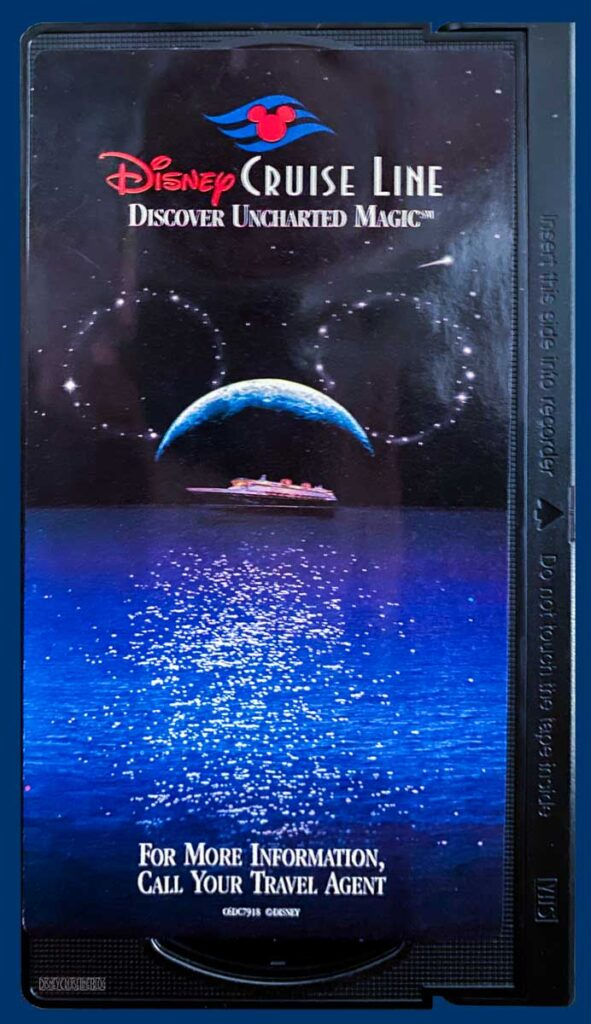 DCL 1997 Discover Uncharted Magic Spring 1998 Promotional Video VHS Tape