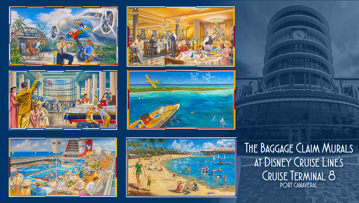 DCL CT8 Luggage Area Murals