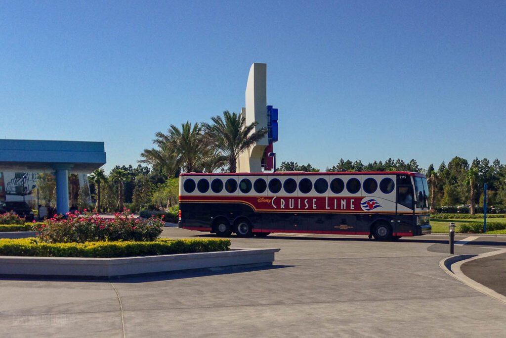 DCL Ground Transfer Bus WDW Art Of Animation