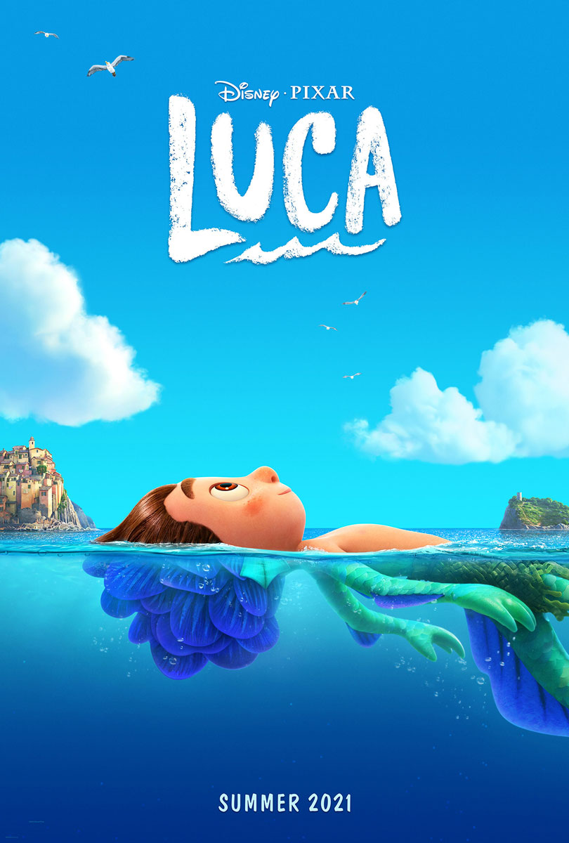 Luca Pixar Movie Poster