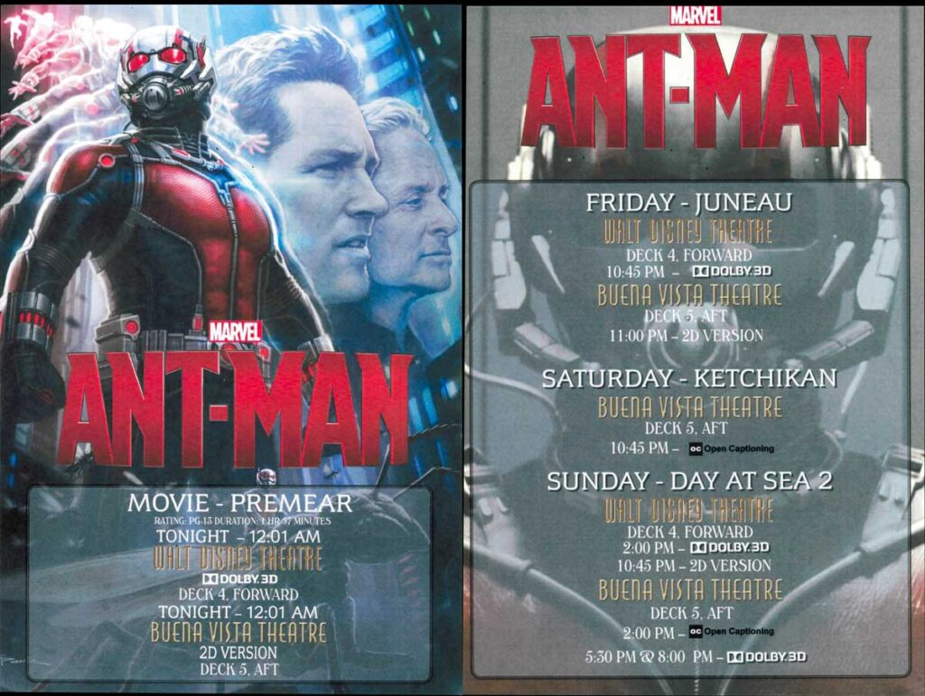 DCL Wonder Ant Man Premear