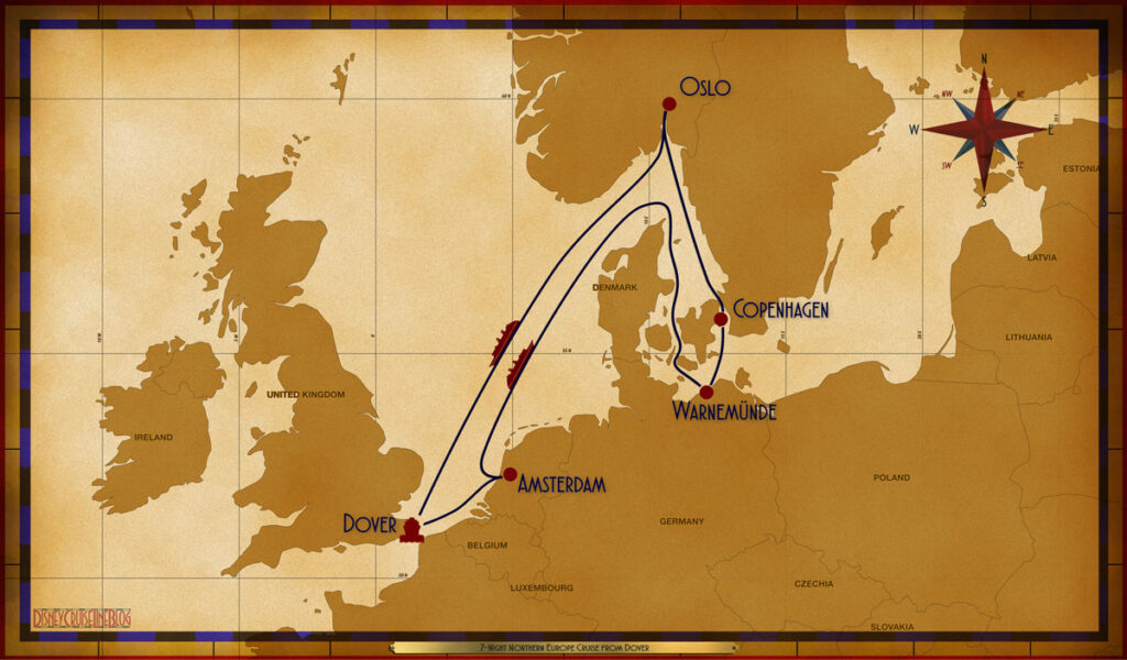 Map Magic 7 Night Northern European DVR AMS SEA WAR COP OSL SEA