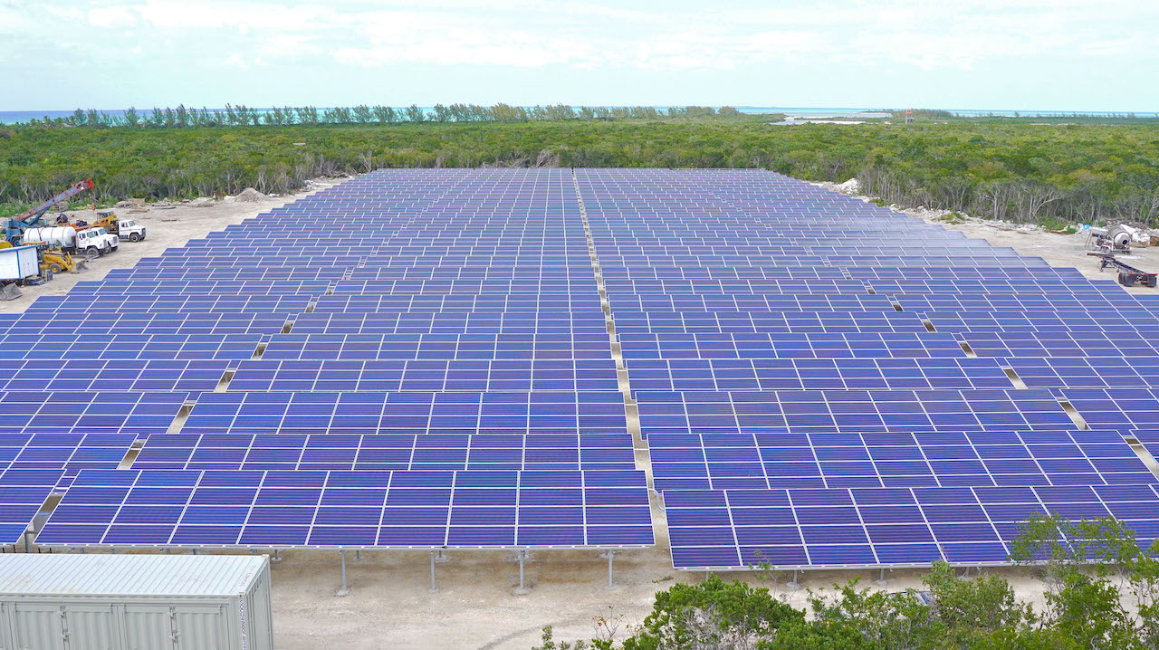 Castaway Cay Solar Panel Installation