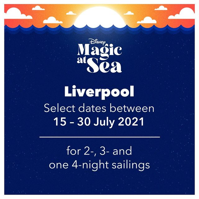 DCL Disney Magic At Sea Announcement Liverpool