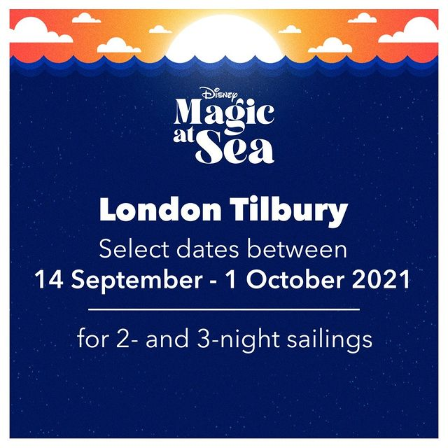 DCL Disney Magic At Sea Announcement London Tilbury