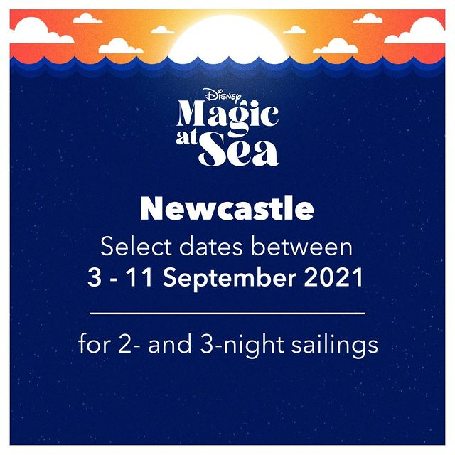 DCL Disney Magic At Sea Announcement Newcastle