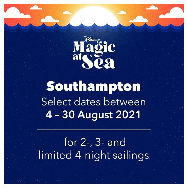DCL Disney Magic At Sea Announcement Southampton