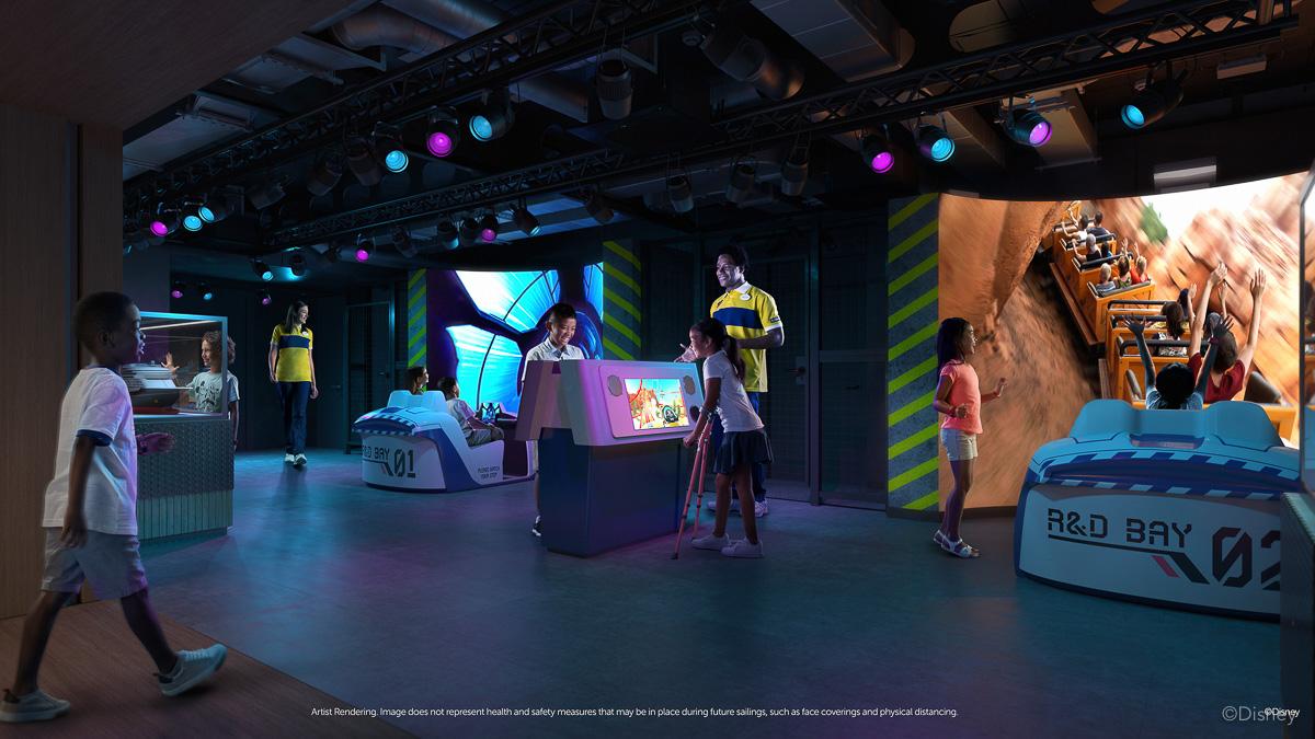 Disney Wish Disney's Oceaneer Club Walt Disney Imagineering