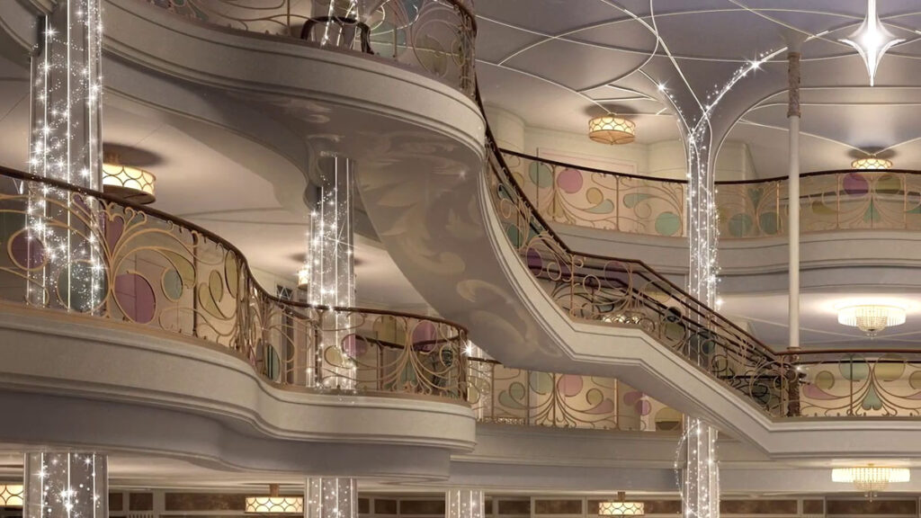 DCL Disney Wish Enchanted Ship Grand Hall Virtual 3