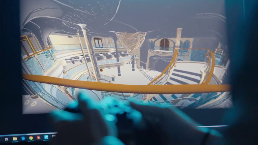 DCL Disney Wish Enchanted Ship Grand Hall Virtual 4