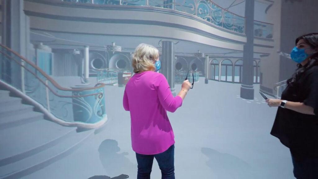DCL Disney Wish Enchanted Ship Grand Hall Virtual 5