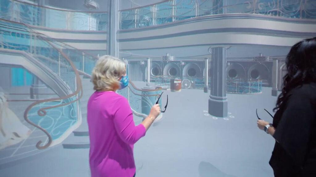 DCL Disney Wish Enchanted Ship Grand Hall Virtual 6