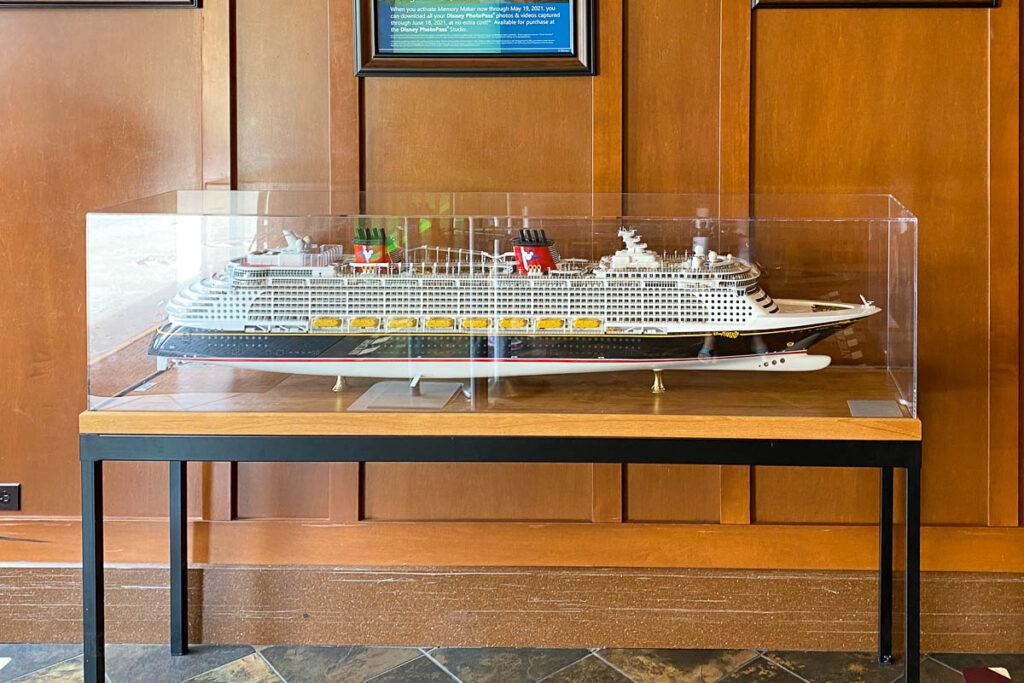 DSMCoOp DCL 2021 Pop Up Ship Model Fantasy