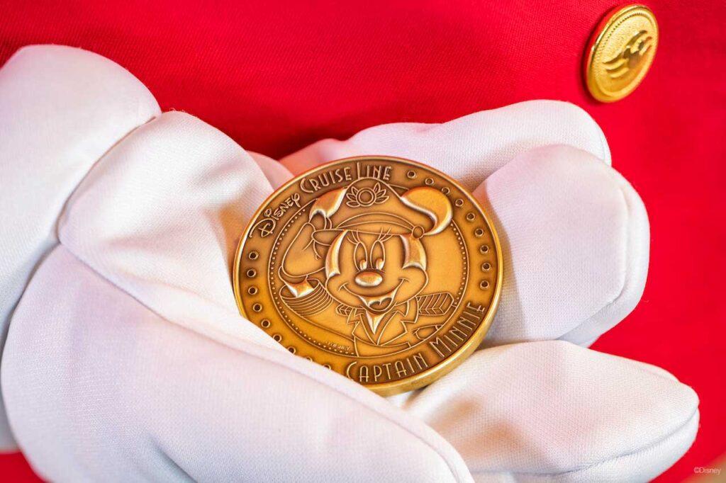Disney Wish Captain Minnie Keel Coin 2