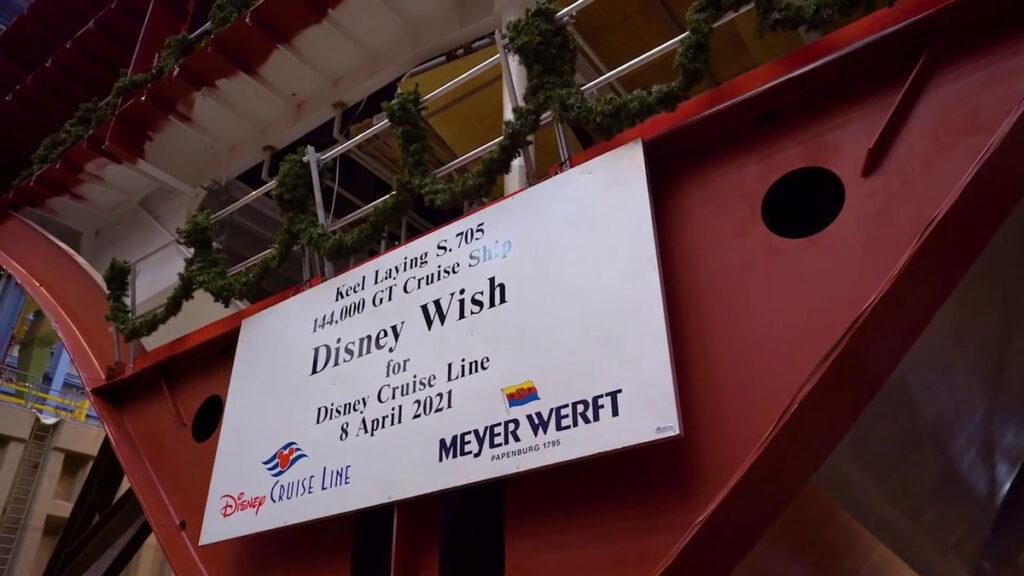 Disney Wish Keel Laying 20210408 5