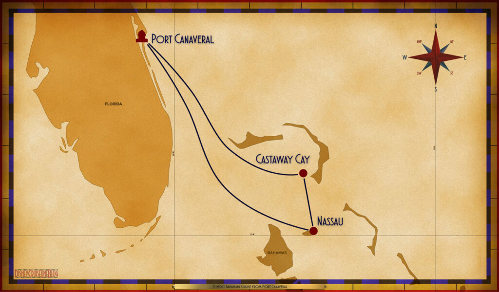 Map Wish 3 Night Bahamian PCV NAS SEA