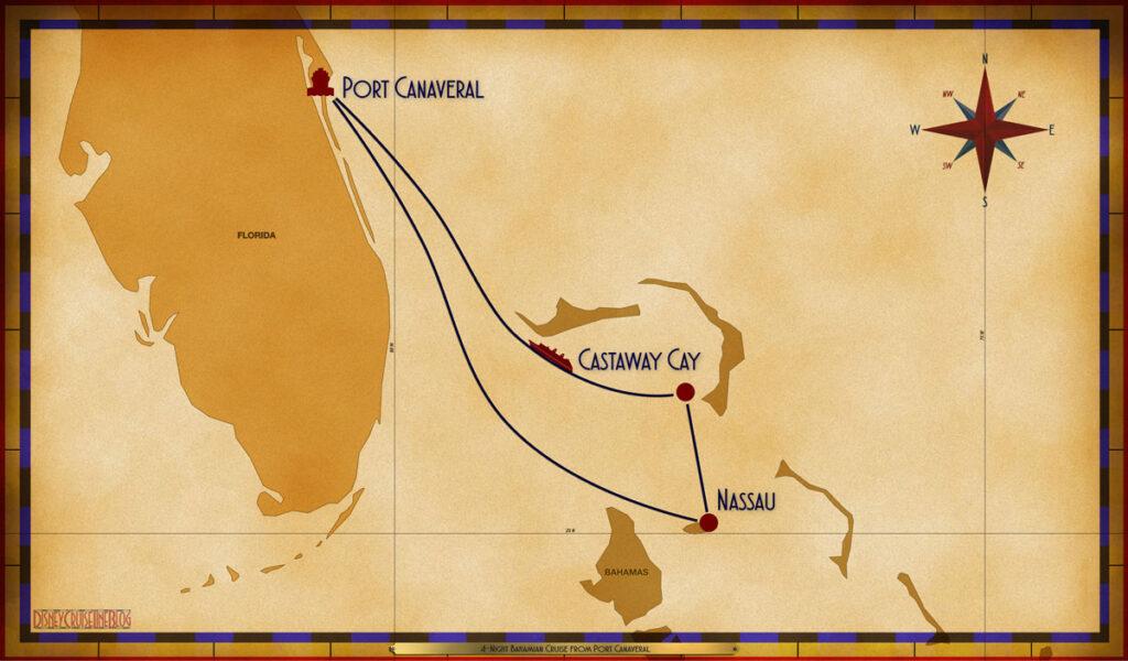 Map Wish 4 Night Bahamian PCV NAS GOC SEA