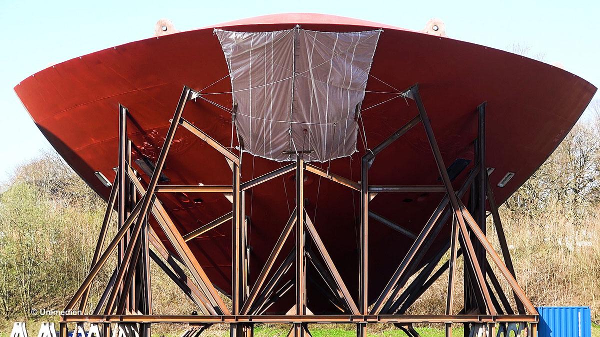 Unimedien Disney Wish Kiel Canal Bugteile 9
