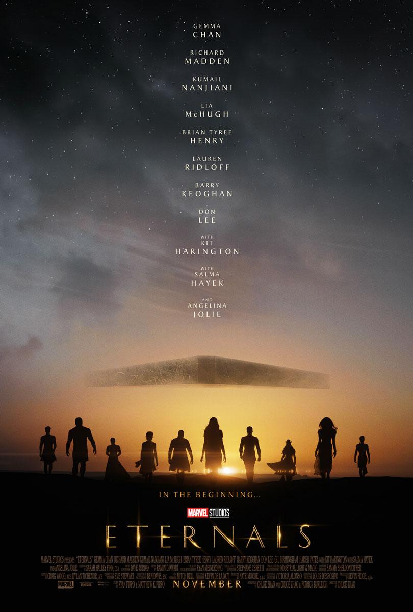 Eternals Teaser Movie Poster