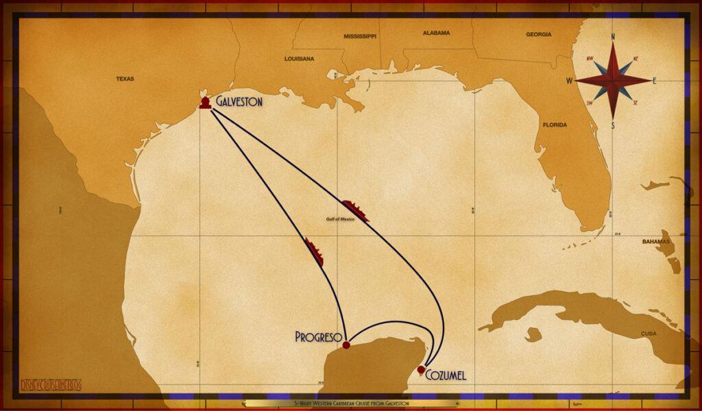 Map Magic 5 Night Western Caribbean GLS SEA PGO CZM SEA