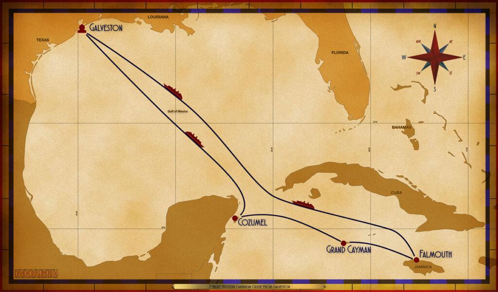 Map Magic 7 Night Western Caribbean GLS SEA CZM GEC FMH SEA SEA