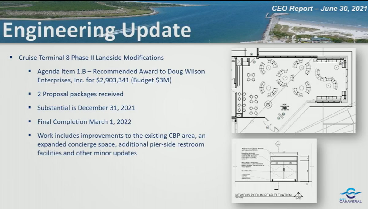 PC DCL CT8 Engineering Phase 2 Update June 2021