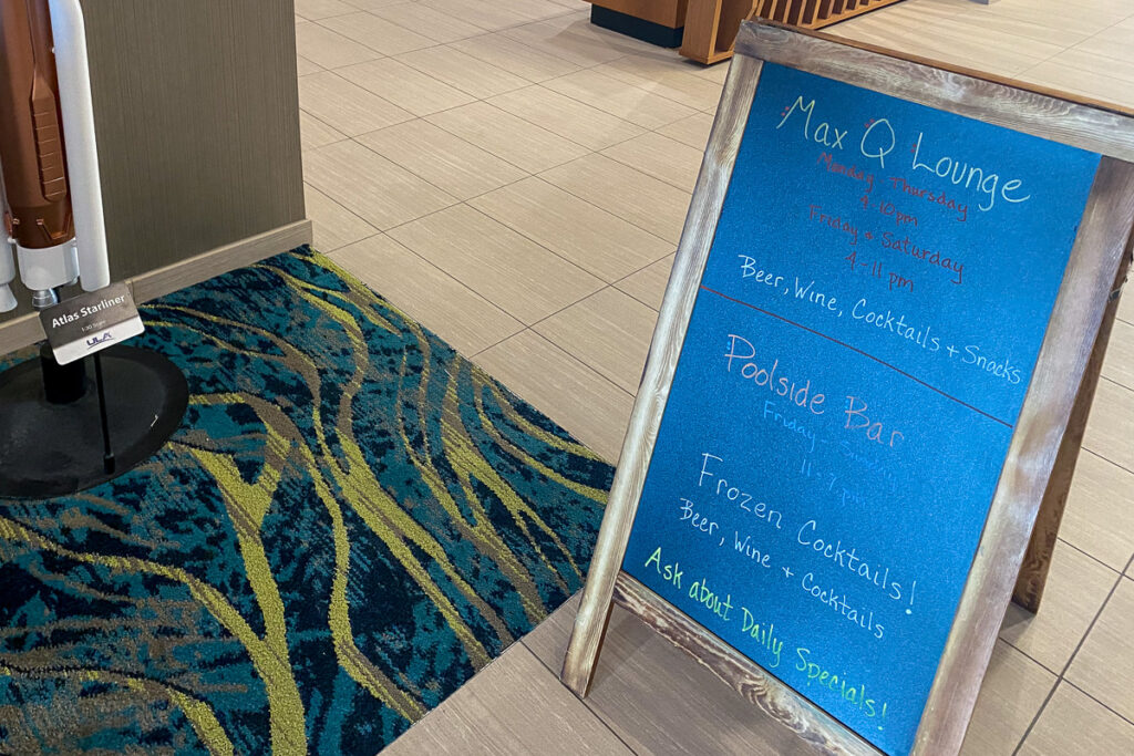 Springhill Suites Cape Canaveral Lobby