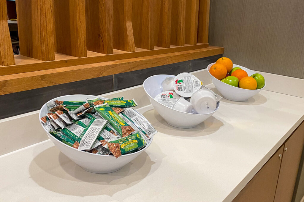 Springhill Suites Cape Canaveral Lobby Breakfast Buffet