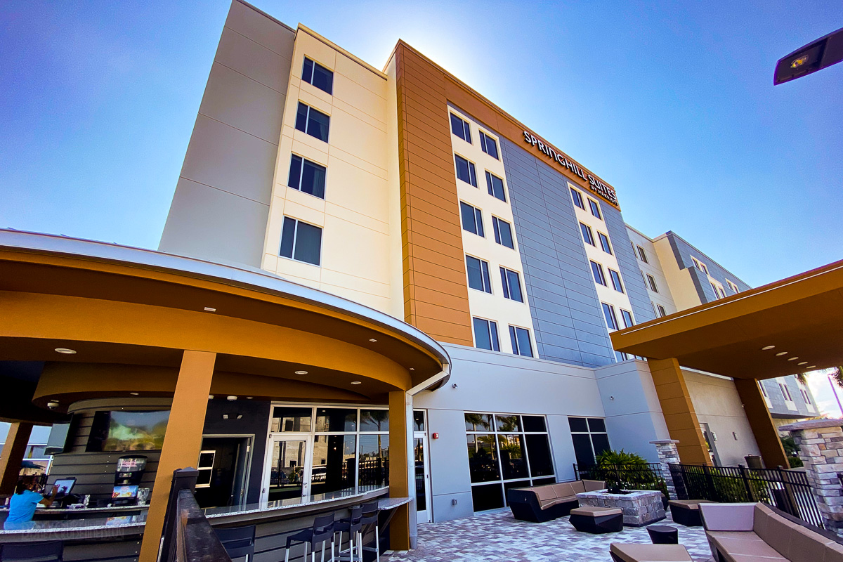 Springhill Suites Cape Canaveral Pool