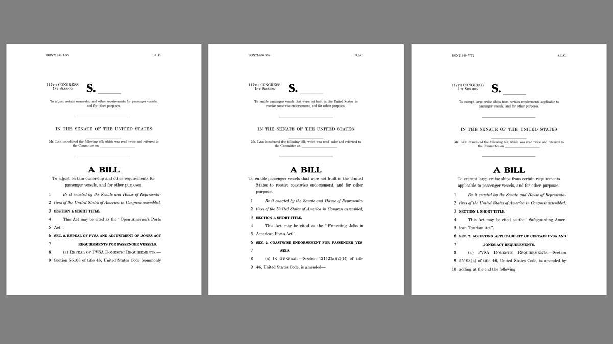 US Senator Lee PVSA Bills 20210610
