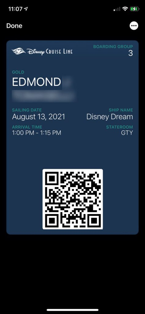 DCL Online Checkin 2021 10